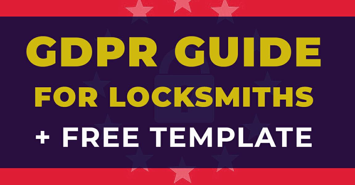 GDPR Guide for Locksmiths