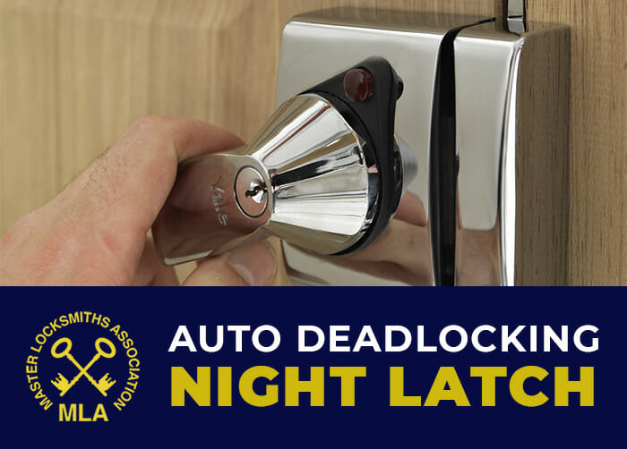 Yale Auto Deadlocking Night Latch