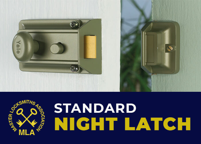 Yale standard Night latch Non Deadlocking