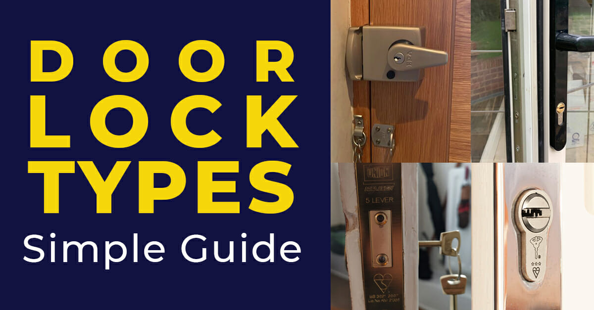 Door Lock Types A Simple Guide For Your Home With Pictures