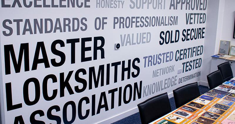 Master Locksmiths Association Inside Boardroom