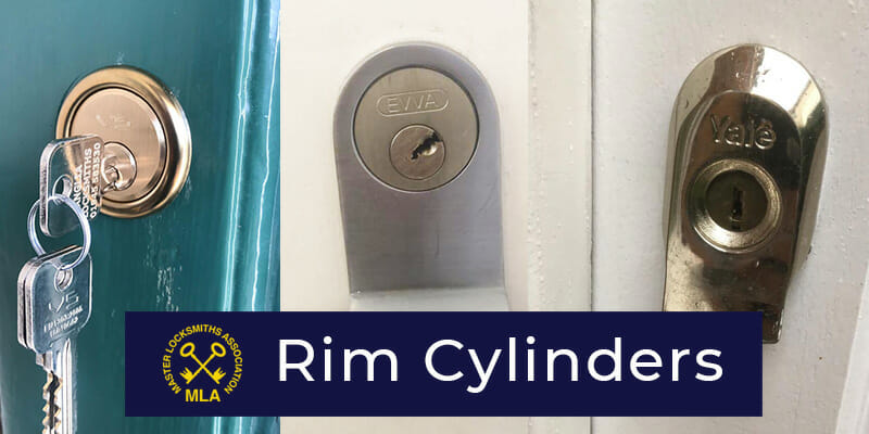 Rim Cylinder Locks fitted to Doors