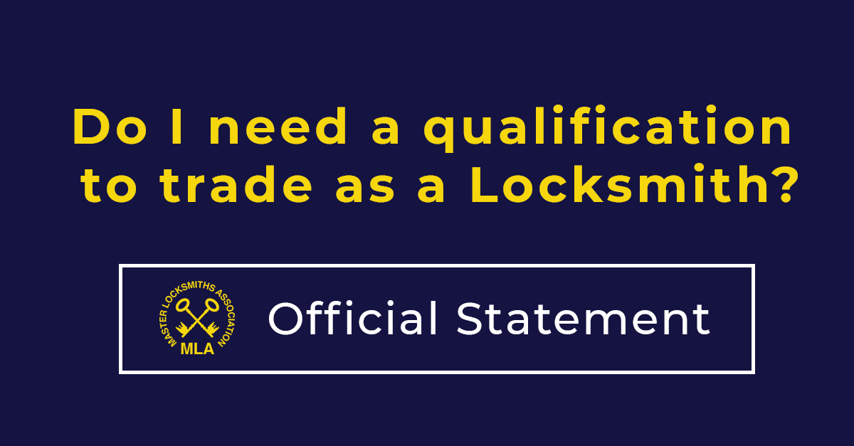 Locksmith-Qualification-To-Trade-as-a-Locksmith