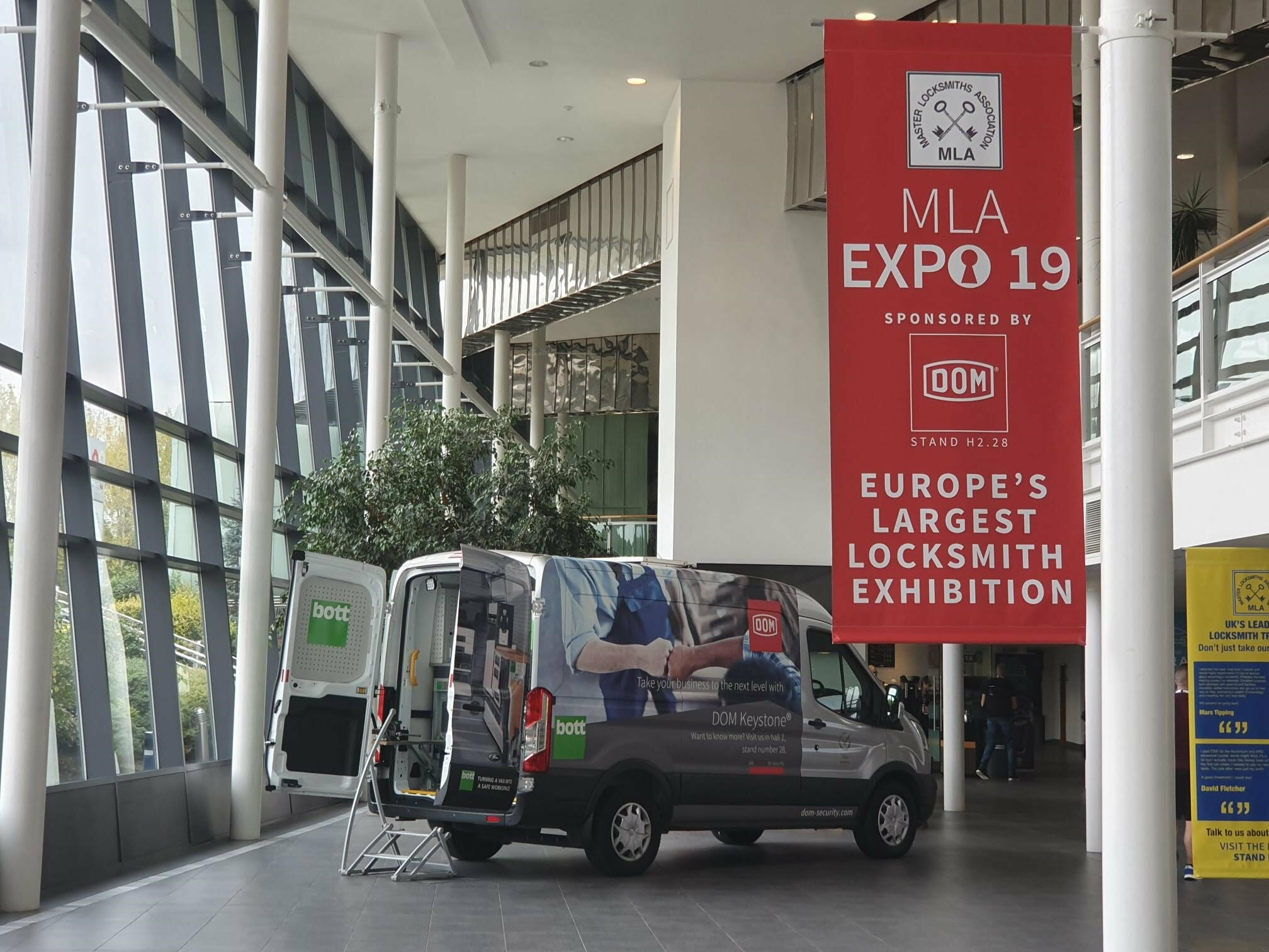 A Huge Success for Europe's Largest Locksmith Exhibition – MLA Expo 2019