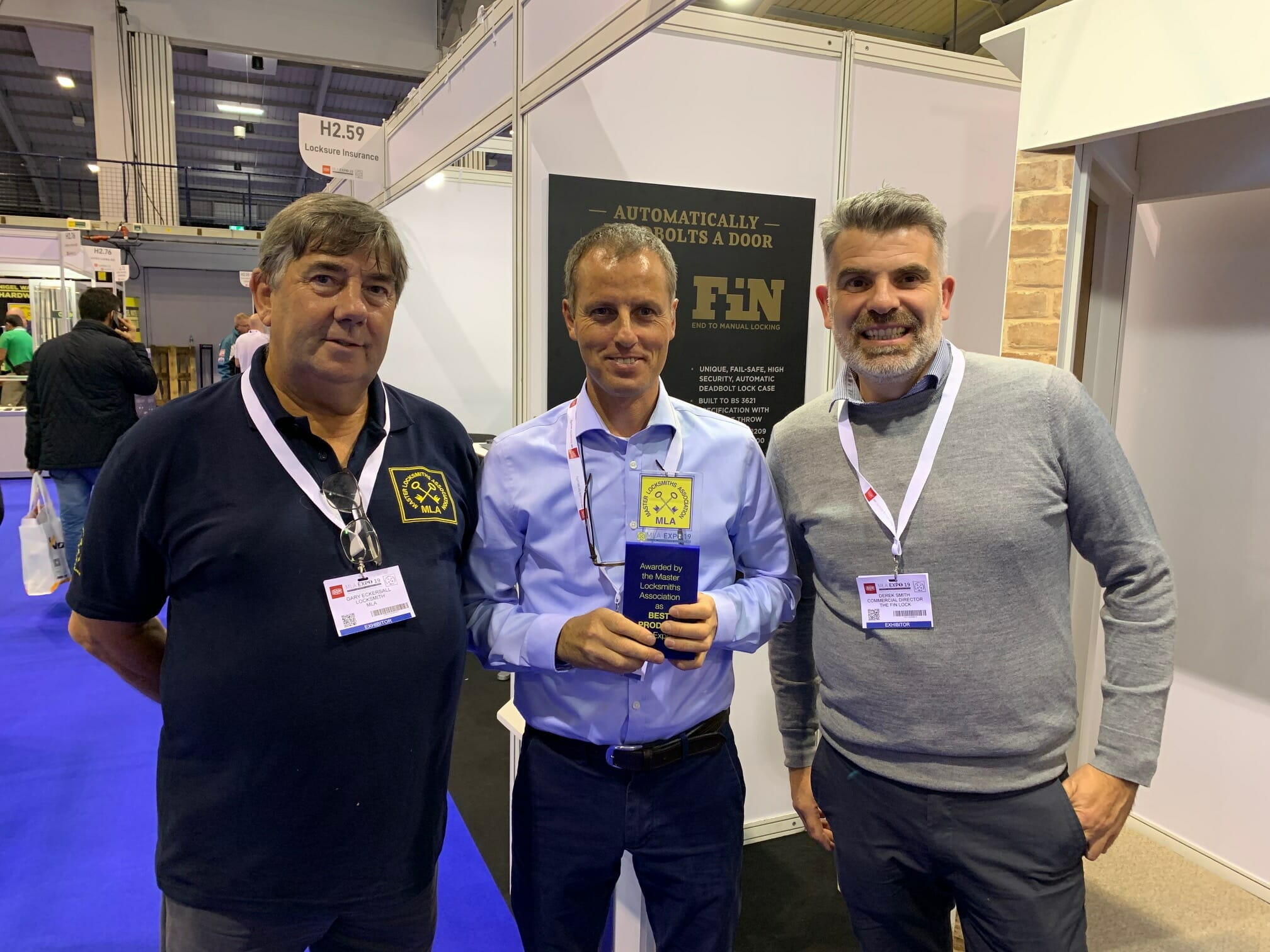 The Fin Lock - best product at MLA Expo 2019