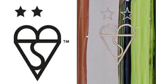TS007 2 Star Kitemark logo on door handle