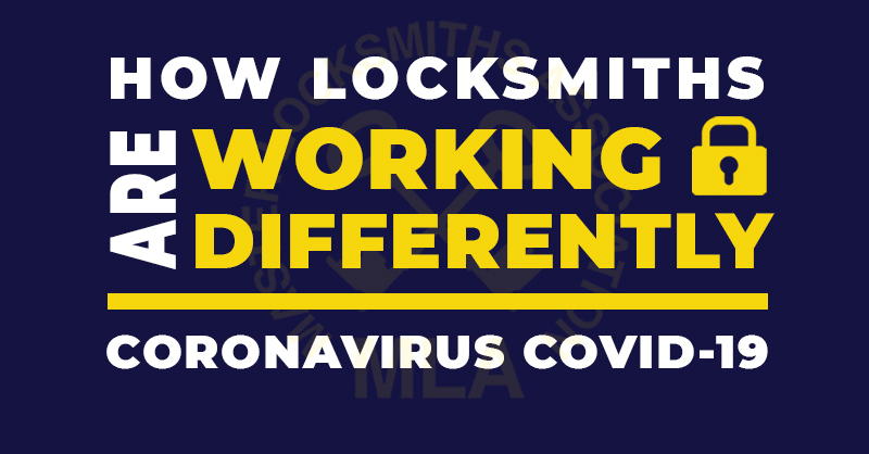 How locksmiths are working differently during COVID-19