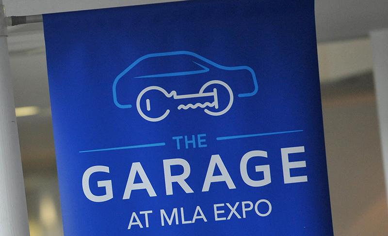 The Garage - Auto Locksmith Exhibition Area at MLA Expo