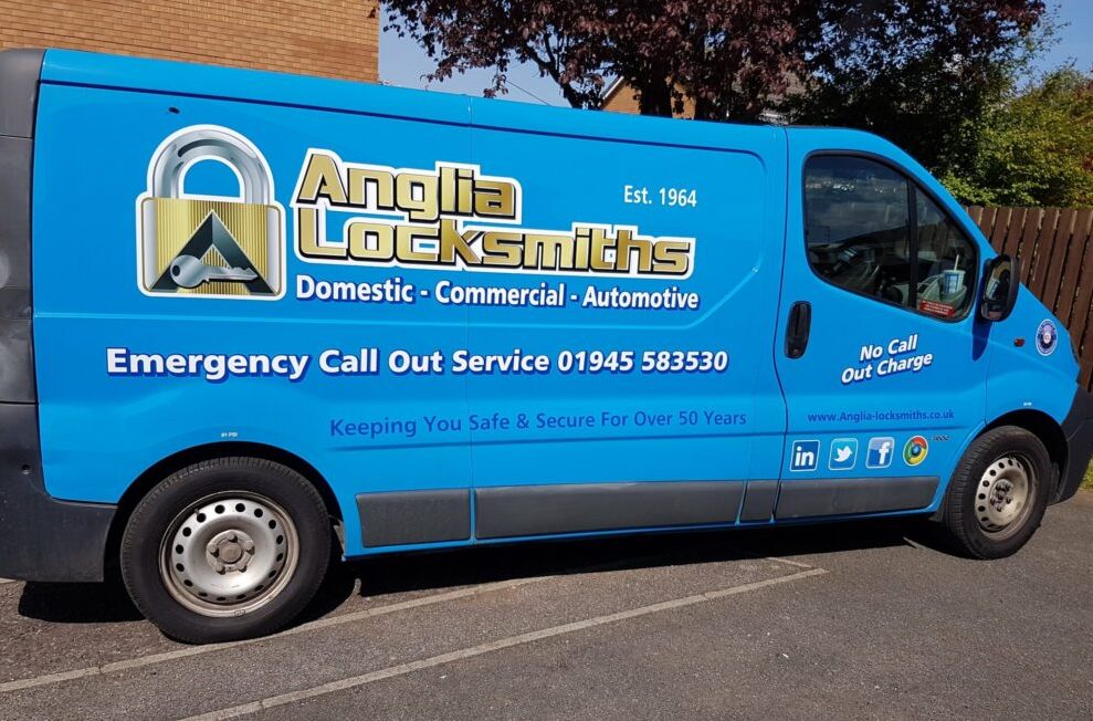Emergency Wisbech Locksmith Van - Anglia Locksmiths