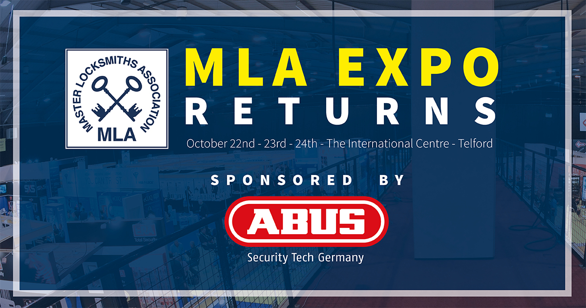 MLA Expo Back in 2021 – UK's Largest Locksmith Event Returns