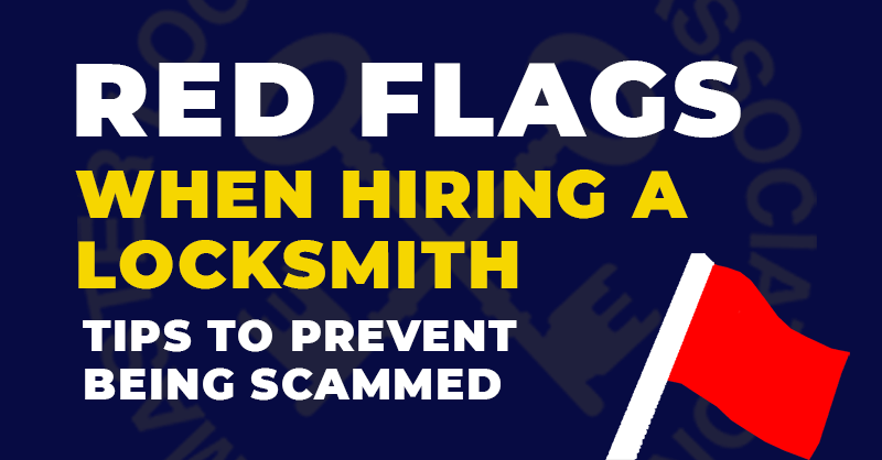 Red Flags When Hiring a Locksmith - Prevent Being Scammed