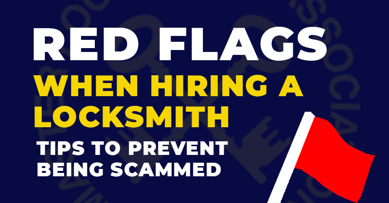 Red Flags When Hiring a Locksmith How to Spot a rogue Locksmith - Prevent Being Scammed