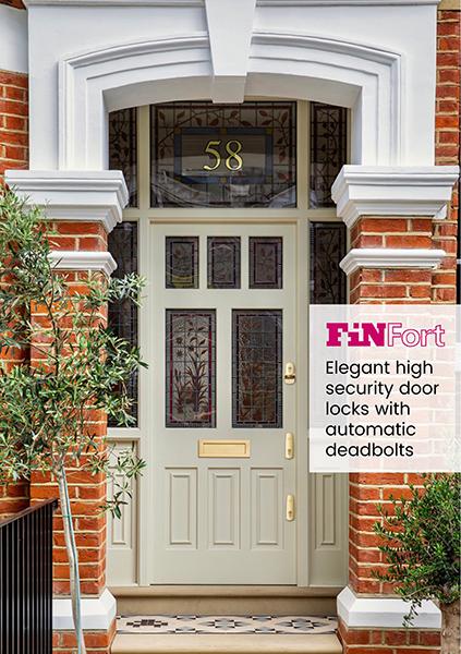 Finfort Front Door With Fin Bolt Triple Door Set